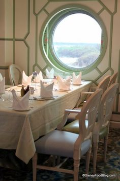 Enchanted Garden Dining Room on the Disney Dream