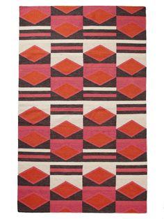 Lulu Hand-Woven Flatweave - Gilt Home $800