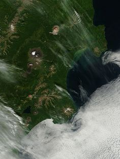 Activity at Kizimen and Shiveluch, Kamchatka Peninsula, eastern Russia