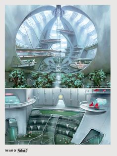 Fallout 4 locations concept art