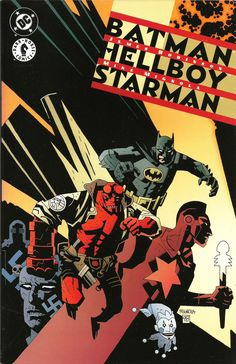 "James Robinson (storia) & Mike Mignola (disegni) ""Batman, Hellboy and Starman"" - DC/Dark Horse - Play Press, 2000"