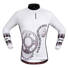 WOSAWE Men Cycling Jersey 2017 Racing DH Downhill MTB Bike Long Shirt  Jerseys Sports wear Cycling 271ef426b