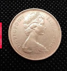 New Pence Rare Coin Elizabeth II UK British Minted 1971 Collectable