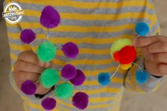 10 fun ways to learn about atoms and molecules for kids - with simple instructions to build a model atom as a building block for learning. Matter Activities, Steam Activities, Science Activities, Science Projects, Classroom Activities, Science Ideas, Science Fun, Life Science, Science Experiments
