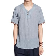 . Fabric Material: Cotton Linen Collar: O-Neck Sleeve Length: Short Sleeve Fit Type: Loose Fit Thickness: Standard Color: Gray, Blue, White, Green, Matcha Green, Khaki Occasion: Casual, Fashion, Retro Season: Spring, Summer Tag Size: L, XL, 2XL, 3XL, 4XL, 5XL Package included: 1* T-shirt Please Note: 1.Please see the Size Reference to find the correct size.