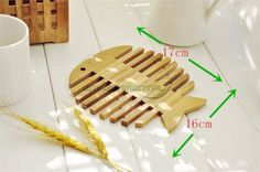 Fish-Bottle-Cups-Vases-Wood-Bamboo-Coaster-Square-Mat-Kitchen-Table-Decors-Tool