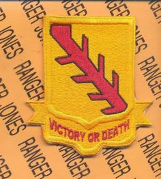 US Army 32nd Armored Regiment Victory or Death Elvis Pocket Patch | eBay