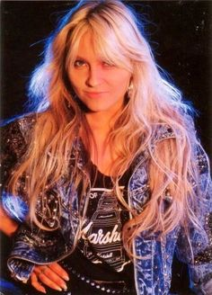 Favorite metal singer from the 80's Doro Pesch (Warlock)
