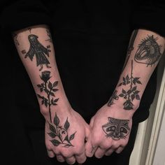 an overwhelming surplus of diggity Time Tattoos, Body Art Tattoos, Tattoos For Guys, Sleeve Tattoos, Tatoos, Badass Tattoos, Cool Tattoos, Tatuaje Old School, Aesthetic Tattoo