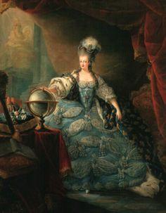 La leine Marie Antoinette 1775