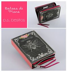 Vintage Black Queen Bee Book Clutch by psBesitos on Etsy, €60.00