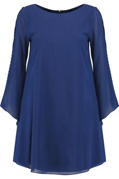 ALICE + OLIVIA ELEONORA SILK-BLEND CHIFFON MINI DRESS 195 € http://www.theoutnet.com/product/786791