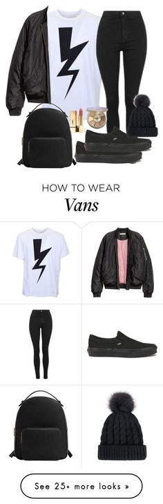 """Louis Tomlinson Inspired"" by heatherpayne95 on Polyvore featuring Neil Barrett, Topshop, Vans, MANGO, tarte and Yves Saint Laurent"
