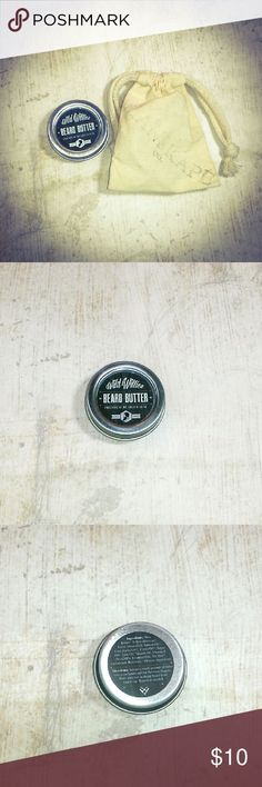 Wild Willies Beard Butter Balm Up for consideration is one Wild Willies Premium Hard Moustache Wax w/free Pouch 0.5oz Tin New. All natural and organic ingredients including yellow beeswax, sweet almond oil, shea butter, tea tree Cedarwood and rosemary essential oils. Wild Willies  Other