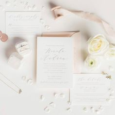 """Dinglewood Design & Press on Instagram: """"Obsessed with this flat lay shot of our Nicole suite 🤗 Thank you @carlawoepsephoto 😍⠀⠀⠀⠀⠀⠀⠀⠀⠀ ⠀⠀⠀⠀⠀⠀⠀⠀⠀ #dinglewooddesignandpress…"""" Letterpress Wedding Invitations, Flat Lay, Place Cards, Place Card Holders, Instagram, Design"""