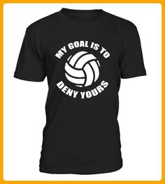My Goal Is To Deny Yours Volleyball - Volleyball shirts (*Partner-Link)
