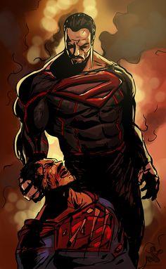 Zod vs Superman