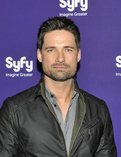 Waren Christie | Warren Christie Warren Christie attends the Syfy 2012 Upfront event at ...