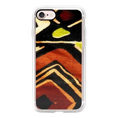 Africa Design Fabric Texture - iPhone 7 Case, iPhone 7 Plus Case,... ($40) ❤ liked on Polyvore featuring accessories, tech accessories, iphone case, iphone cover case, apple iphone case, slim iphone case and iphone cases
