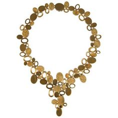 Fashion Art, 1970s, Fine Jewelry, Gold Necklace, Antiques, Masters, Bracelets, Handmade, London