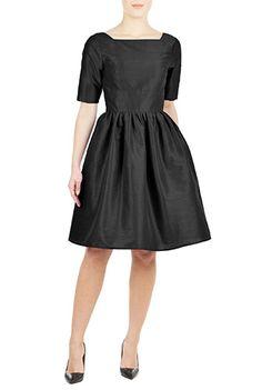 87c3693ac1f I  lt 3 this Natalie dress from eShakti Fit Flare Dress