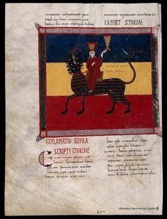 Beato de Liébana. Beato de Liébana , Santo — Manuscrito — 1047 451