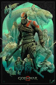 Anime Guys, Manga Anime, God Of War Series, Avatar Images, Kratos God Of War, Rainbow Six Siege Art, Gaming Posters, Movie Posters, Video Game Art