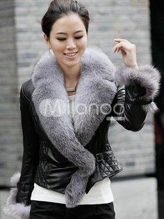 Shadow fox fur coat & hat   FURCOATS   Pinterest   More Fur, Fox ...