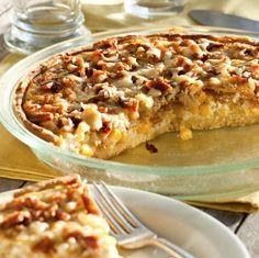 Vidalia onion bacon pie