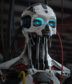 A Zbrush sculpt rendered in Keyshot then edited in Photoshop. Zbrush, Arte Robot, I Robot, Low Poly, Futuristic Robot, Futuristic Armour, Robot Concept Art, Robot Design, Cyberpunk Art