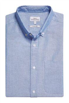 Light Blue Long Sleeve Oxford Shirt Code: 673-982 Price £20