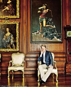 'Enjoyment is not something I ever thought would be part of the package,' says the earl, who knew Althorp as a gloomy, forbidding place when he came here as a child with his late sister Diana, Princess of Wales