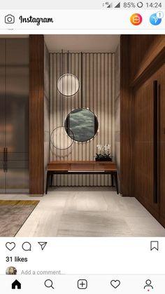 47 Ideas Chinese Furniture Design Mirror For 2019 Asian Interior, Japanese Interior, Interior Exterior, Modern Interior, Interior Design, Entrance Design, Door Design, House Design, Foyer Decorating