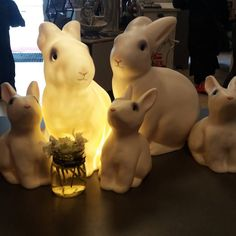 White rabbit lamps and coin banks oliviashus.se