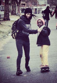 Girls that skate, skater girl