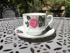 These are made using upcycled vintage teacup and saucer sets, with unscented candle wax. The best part is, when the candle is done just wash the cup out with hot water and you can use it for tea again! Teacup Candles, Candle Wax, Upcycled Vintage, Tea Cups, Tableware, Mini, Handmade, Stuff To Buy, Etsy