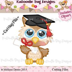 Graduation Owl - includes clipart