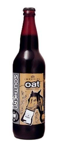 Cerveja Southern Tier Oat, estilo Russian Imperial Stout, produzida por Southerntier Brewing, Estados Unidos. 11% ABV de álcool.