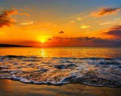 Bali Beach Sunset!