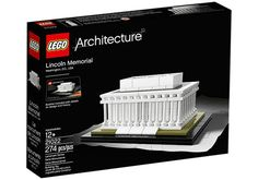 The Lincoln Memorial, from Lego Architecture