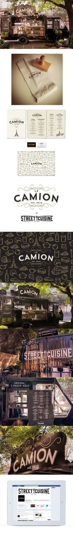 Le Camion on Behance..