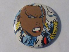 "Cyber Monday Weekend// Comic Book 1.5"" Button// X-Men// Storm, $0.80"