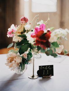 peach peony wedding flowers