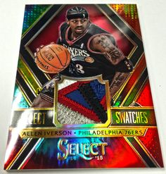 Panini America 2014-15 Select Basketball Select Swatches Tie Dye (7)