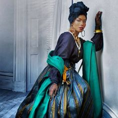 """Actress Angela Bassett portrays Marie Laveau the Voodoo Queen in """"American Horror Story: Coven in American"""""""
