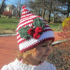 Ravelry: Santa' s Helper Elf Hat pattern by Catherine Potenza