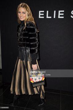 Fotografia de notícias : Olivia Palermo attends the Elie Saab Haute...