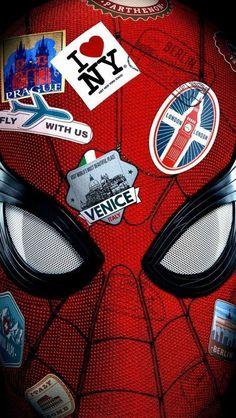 Spiderman Far From Home Poster iPhone Wallpaper - Marvel Universe Films Marvel, Marvel Art, Marvel Heroes, Marvel Cinematic, Marvel Avengers, Marvel Comics, Spiderman Marvel, Spiderman Kunst, Spiderman Spider