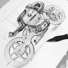 Drawing Sketches, Drawings, Sketching, Bike Sketch, Motorbike Design, Concept Motorcycles, Futuristic Cars, Transportation Design, Automotive Design