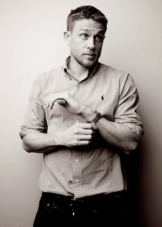 Charlie Hunnam source — Charlie Hunnam photographed by Jens Koch for...